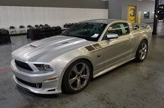 American Muscle Cars…   2014 Saleen 351 Supercharged Ford Mustang