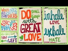 ▶ DIY: Quote Art Journal ✽ Part 2 - YouTube