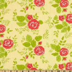 Moda Happy-Go-Lucky Bloom Yellow
