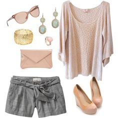 Summer Blush, created by kristimichelle on Polyvore