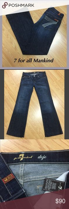 "29 x 32.5"" 7 for all Mankind Dojo flares 7 for all mankind Dojo wide leg flares in New York Dark wash • 32.5"" inseam, 8"" rise, 16"" across waist, 22"" leg opening • 98% cotton, 2% spandex • EXCELLENT condition!!! 7 For All Mankind Jeans Flare & Wide Leg"