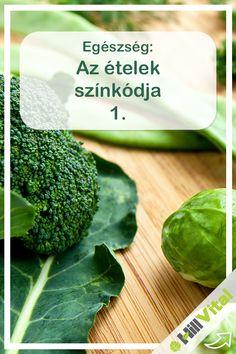 Zöld és a klorofill: a legjobb méregtelenítő. A zöld színű zöldségek és gyümölcsök jó méregtelenítők. Magas víz – és rosttartalmúak. Ezen kívül klorofillt is tartalmaznak, amely fotoszintézis útján keletkezik. Broccoli, Vitamins, Medical, Herbs, Vegetables, Healthy, Food, Medical Doctor, Meal
