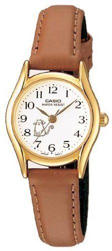 Casio Women's Leather watch #LTP1094Q7B8 Casio. $22.00. Precise Japan Quartz Movement. Water Resistant - 30M. Stainless Steel Case with Leather Strap. Case Size:  23mm Diameter, 7mm Thickness. Mineral Crystal, 3 Hand Analog Display. Save 27%!