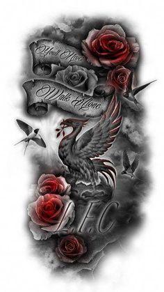easy half sleeve tattoos #Halfsleevetattoos Half Sleeve Tattoos Color, Half Sleeve Tattoos Lower Arm, Unique Half Sleeve Tattoos, Half Sleeve Tattoos Designs, Full Sleeve Tattoos, Unique Tattoos, Tattoo Designs, Tattoo Sleeves, Awesome Tattoos