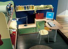 original diseño escritorio juvenil moderno