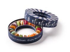 HomeMade Macarons - nova kutija Macaroon Packaging, Macaroon Box, Cake Packaging, Packaging Design, Homemade Macarons, Macaron Recipe, Shoe Box, Homemade Gifts, Cute Gifts