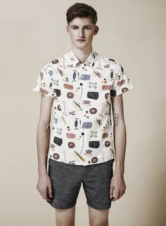 Topman LTD Ripley Collection Spring/Summer 2012: 50s Heritage Inspired Contemporary Short Length Boxy Fit For Stylish Summer