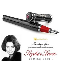More than a movie star Sophia Loren is an Italian screen goddess. @Montegrappa1912 immortalizes her 60 year career in a limited edition pen collection that embodies feminine sensuality. What is your favorite Sophia Loren movie? #montegrappa #italian #fountainpen #luxurypen #sophialoren #limitededition #italiangoddess #italianfilm  @montegrappaitalia @montegrappausa  by goldspotpens