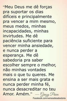 Fé sempre. A Guy Like You, Jesus Prayer, Morning Prayers, Instagram Blog, Beauty Quotes, Quotes About God, Spiritual Quotes, Religion, Spirituality