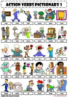 Aumenta tu vocabulario con #ActionVerbs  #Lesson #English  bit.ly/ingleskype