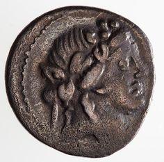 Coin - Denarius, M. Volteius, Ancient Roman Republic, 78 BC