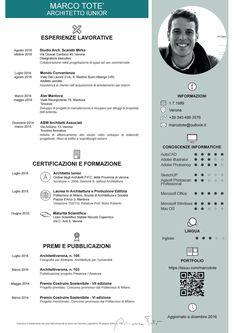 Architetto Iunior Marco Toté - Curriculum Vitae