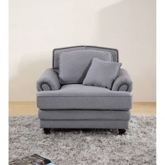 Chic My Room contemporary Nicole upholstered sofa armchair suite settee grey neutral comfortable living seating.