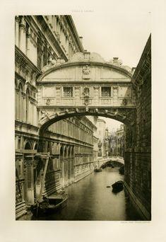 I like these prints  Ongania Calli E Canali In Venezia 1891
