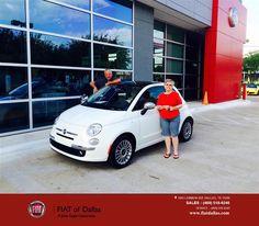 https://flic.kr/p/GCm47v   Congratulations Virginia on your #FIAT #500 from Farzin Rejaie at FIAT of Dallas!   deliverymaxx.com/DealerReviews.aspx?DealerCode=F741