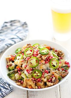 THANKSGIVING BRUSSELS SPROUT NACHOS RECIPE