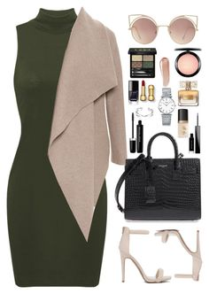 """""""Get ready for it."""" by krys-imvu ❤ liked on Polyvore featuring Harris Wharf London, Yves Saint Laurent, Longines, MAC Cosmetics, Givenchy, Marc Jacobs, NARS Cosmetics, Gucci, Too Faced Cosmetics and MANGO"""