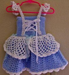 Ravelry: Cinderella Style Baby Dress pattern by Aundie Molina