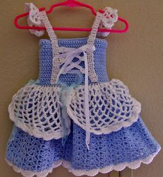Ravelry: Cinderella Style Baby Dress pattern by Aundie Molina