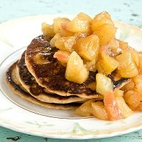Apple Pie Pancakes | Post Punk Kitchen | Vegan Baking