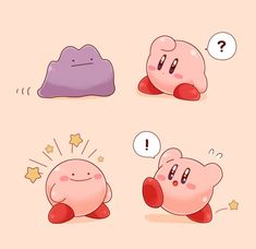 Kirby Memes 796011302867164424 - What if Kirby copied Ditto's ability? Would it create a paradox? Would it cause a black hole? Kirby Character, Character Design, Kirby Memes, Nintendo Super Smash Bros, Nintendo Characters, Cute Pokemon, Kirby Pokemon, Anime, Copic