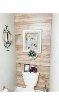 Use laminate flooring to make an easy to clean accent wall! Bathroom Accent Wall, Kitchen Accent Walls, Shiplap Wall In Bathroom, Wood Accent Walls, Accent Wall Decor, Bathroom Accents, Laminate Wall, Home Upgrades, Ship Lap Walls