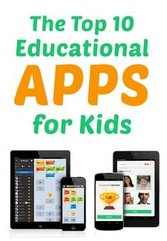 Your Kid's Education With These Top Ten Educational Apps! The Top 10 Educational Apps for Kids (and they're free!)The Top 10 Educational Apps for Kids (and they're free! Educational Apps For Kids, Learning Apps, Educational Websites, Learning Tools, Educational Activities, Educational Technology, Learning Activities, Kids Learning, Toddler Activities