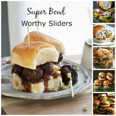 6 Super Bowl Worthy Sliders