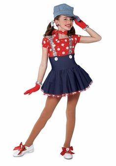 A Wish Come True Dance Choo Choo Ch Boogie Child Character Dance Costume Cute Dance Costumes, Tap Costumes, Dance Costumes Lyrical, Dress Up Costumes, Hello Kitty Dress, Girly Girl Outfits, Halloween Disfraces, Dance Outfits, Dance Wear