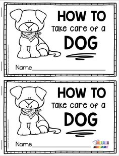 EXPOSITORY WRITING - Kindergarten and first grade writing curriculum with FREEBIES - How To take care of a dog Book - Expository writing activity and lesson for kindergarten and first grade - primary writer's workshop - free printable information book for First Grade Books, Centers First Grade, 1st Grade Writing, First Grade Teachers, First Grade Classroom, Writing Curriculum, Writing Lessons, Creative Curriculum, Teaching Writing