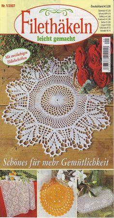 Filethäkeln leicht gemacht 1-2007 - claudia - Álbuns da web do Picasa