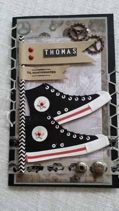 Card made by me :) @mftstamps converse die