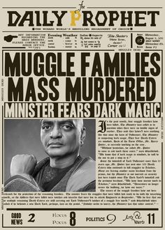 Retro Harry Potter Posters The Daily Prophet News Posters Harry Potter, Objet Harry Potter, Hery Potter, Harry Potter Fiesta, Cumpleaños Harry Potter, Harry Potter Printables, Mundo Harry Potter, Images Harry Potter, Harry Potter Halloween
