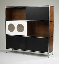 CHARLES AND RAY EAMES    custom ESU 400 series cabinet