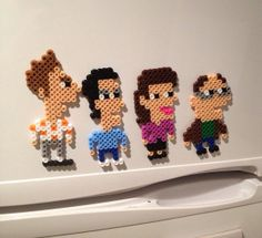 Seinfeld Perler Magnets (Set of 4)