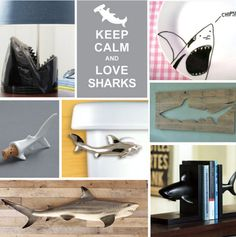 Embrace #Shark Week With Shark-Inspired Decor (http://blog.hgtv.com/design/2013/08/06/embrace-shark-week-with-shark-inspired-decor/?soc=pinterest)