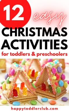 12 Easy Christmas Activities for Toddlers Christmas Activities For Toddlers, Winter Crafts For Toddlers, Toddler Christmas Gifts, Toddler Gifts, Photo Christmas Tree, Christmas Ornaments To Make, Christmas Gifts For Mom, Simple Christmas, Minimal Christmas