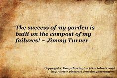 As every seasoned gardener knows!