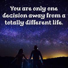 Decisions, Decisions ...