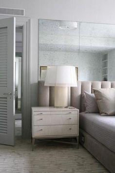 bedhead wall mirror - Google Search
