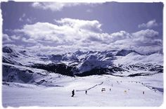 Sunshine Village ski Area,Alberta,Canada