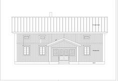 Pohjalaistalo 7 116m2 + 91m2 | Rakennus Luoma Oy Garage Doors, Floor Plans, Outdoor Decor, Home Decor, Decoration Home, Room Decor, Home Interior Design, Carriage Doors, Floor Plan Drawing