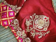Pure Elegance red silk blouse back Simple Blouse Designs, Stylish Blouse Design, Blouse Designs Silk, Saree Blouse Patterns, Designer Blouse Patterns, Work Blouse, Red Silk, Durga, Indian Designer Wear
