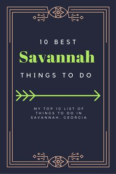 Looking for a sweet Southern weekend getaway? Spend your weekend in Savannah Georgia! Savannah is a gorgeous and low-key place for a relaxing weekend with plenty to do. Here is my list of my top 10 things to do in all my visits there. Savannah Georgia, Savannah Chat, Oh The Places You'll Go, Places To Travel, Travel Destinations, Camping Places, Nova Scotia, Norfolk, Banks