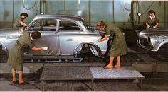 Ladies of the Torslanda plant back in the 60's.