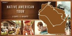 Learn more about the Native Americans in Wisconsin and their culture on this six day tour. Visit The Ho-Chunk Nation, The Oneida Nation and more! Oneida Nation, Big Bay, Wisconsin Dells, American Tours, Stay The Night, Day Tours, Native Americans, State Parks, Nativity