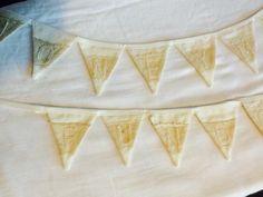 Timeless Textiles - Mini wedding bunting x