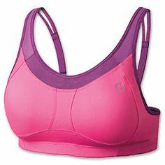 Women's Moving Comfort Vero A/B Sports Bra| FinishLine.com | Sweet Pea/Velvet