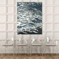 Prints now available through McGaw Graphics @mcgawgraphics #coastalart #oceanwaves #contemporaryart #coastaldesign #margaretjuul