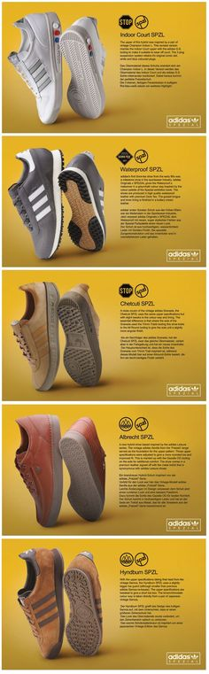 adidas Originals x SPEZIAL SS15 collection